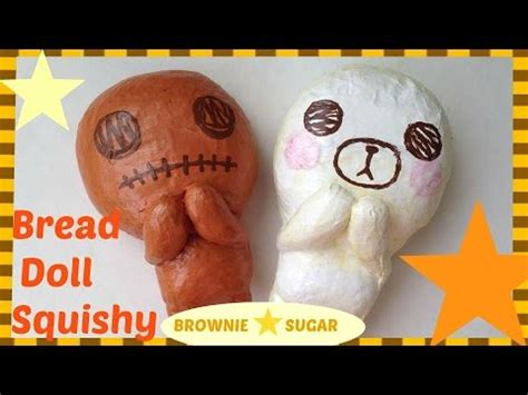 tutorial ibloom bread doll squishy