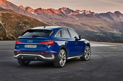 New Audi Q5 Sportback: mid-sized SUV receives coupe ...