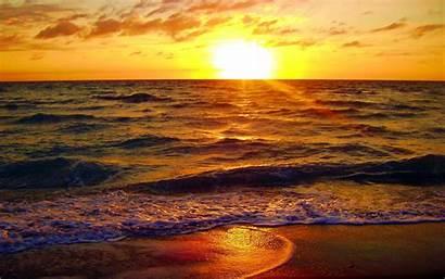 Sunrise Florida Beach Wallpapers Allwallpaper Nature Summer