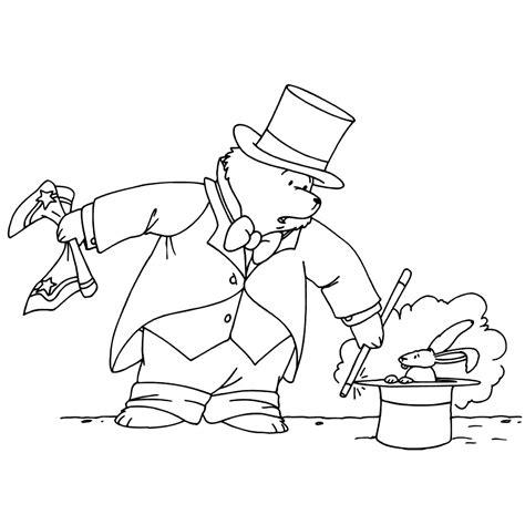 Kleurplaat Paddington by Leuk Voor Goochelaar Paddington