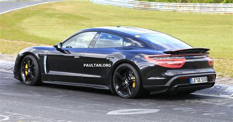 SPIED: 2020 Porsche Taycan hits the Nurburgring!