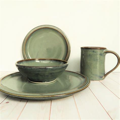 dinnerware stoneware sets pottery handmade unique ceramic