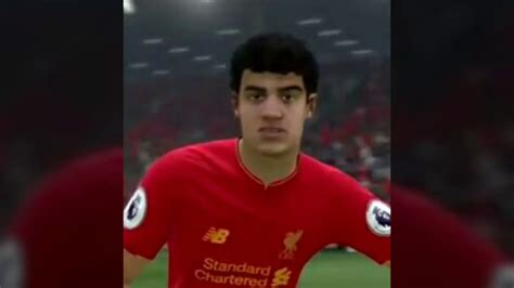 fifa 17 update coutinho s new hairstyle and new face