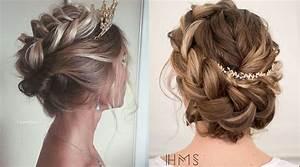 Coiffure Simple Femme : chignon de mariage simple coupe de cheveux fiancaille arnoult coiffure ~ Melissatoandfro.com Idées de Décoration