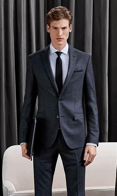 Boss Suit Slim Extra Suits Hugo Wearing