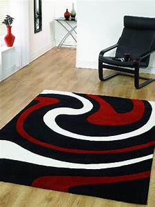 Home Style Tapete : home style gloucester ltd radical black with red and white rugs diva studio tapetes tapete ~ A.2002-acura-tl-radio.info Haus und Dekorationen