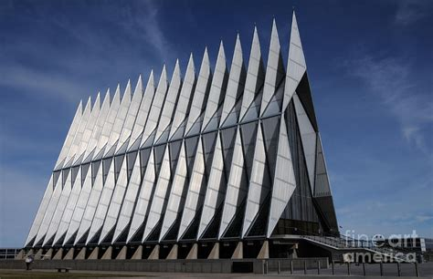 united states air academy cadet chapel photograph by christopher