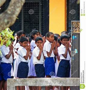 Primary School Students In Sri Lanka Editorial Stock Photo ...