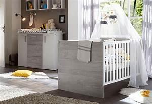 Wickelkommode Und Babybett : babyzimmer spar set helsinki 2 tlg babybett wickelkommode online kaufen otto ~ Frokenaadalensverden.com Haus und Dekorationen