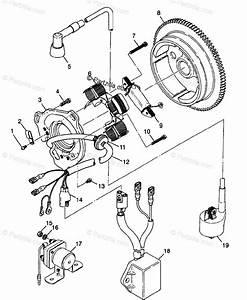 Polaris Atv 1998 Oem Parts Diagram For Magneto Xplorer 300