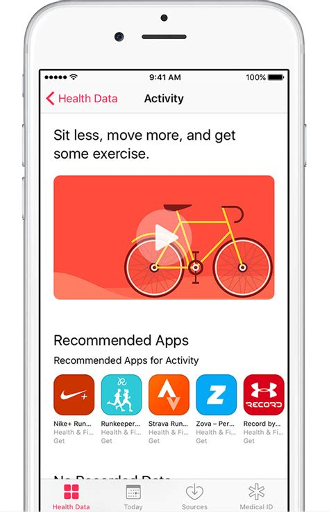 iphone health app use the health app on your iphone or ipod touch apple Iphon