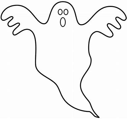 Coloring Halloween Ghost Duch Printable Templates Template