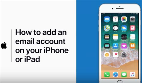 how to add email account on iphone how to add an email account on your iphone or