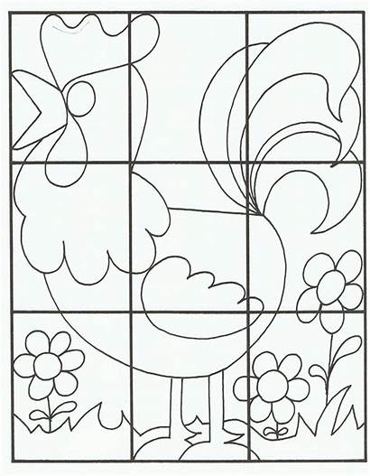 Puzzle Worksheet Easy Crafts Preschool Worksheets Kindergarten