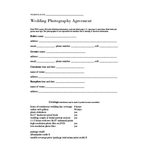 contract template   word excel  documents