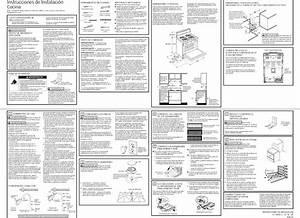 Ge Jgbs10dek1bb 1404539l User Manual Gas Range Manuals And