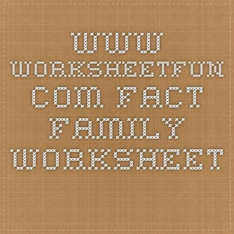 wwwworksheetfuncom fact family worksheet  images