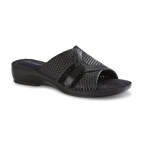 i comfort shoes at sears i comfort s tessa black sandal clothing