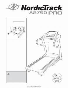 Nordictrack A2750 Pro Treadmill