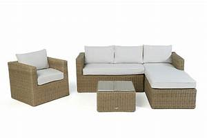 Rattan Lounge Rund : brooklyn rattan round lounge garden furniture set for your balcony or terrace ~ Indierocktalk.com Haus und Dekorationen