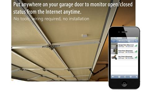 garage door sensor app monitor and find everything from the wireless