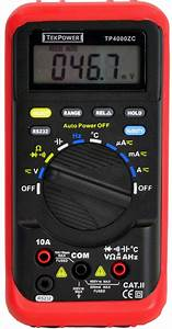 Digital Multimeter Tp4000zc User U0026 39 S Manual
