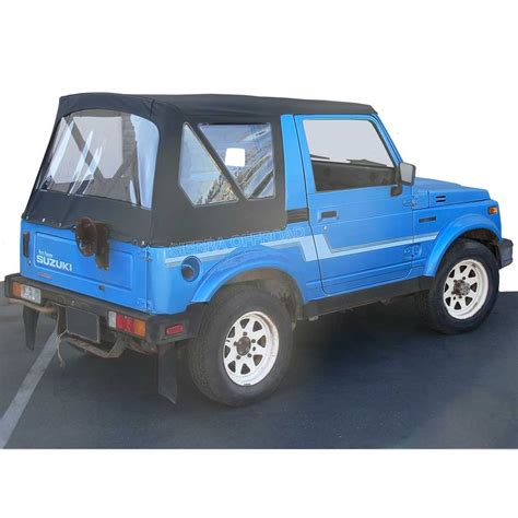 Suzuki Samurai Tops by Offroad Suzuki Samurai Soft Top 86 94 In Black
