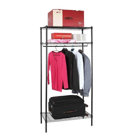 premium quality heavy duty metal wire shelf wardrobe