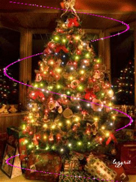 christmas tree lights animated pictures