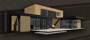 projets With entree de maison design 6 maison ossature bois plain pied