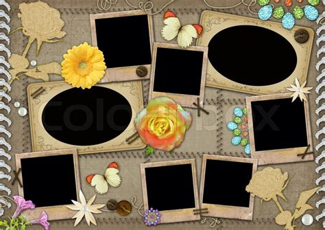 template   collage photo stock photo colourbox