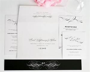 luxe flourish wedding invitations wedding invitations by With wedding invitation address website