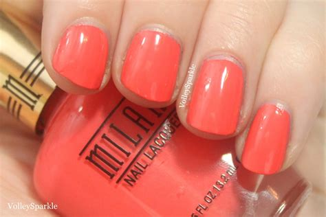Milani Colorful Coral Nail Lacquer