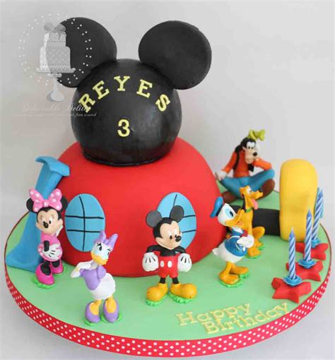 delectable delites mickey mouse clubhouse cake  reyes