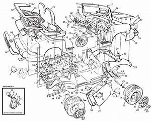 Power Wheels Porsche Turbo Parts