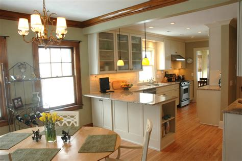open kitchen dining room design   traditional home