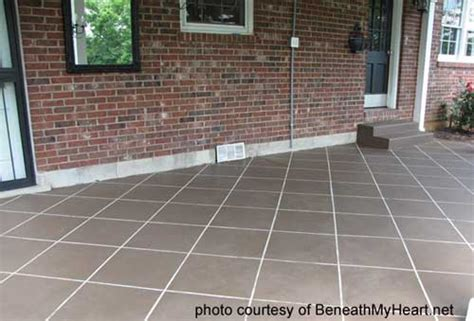 Concrete Porch Sealer