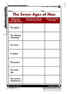 Shakespeare – The Seven Ages of Man – Primary KS2 teaching