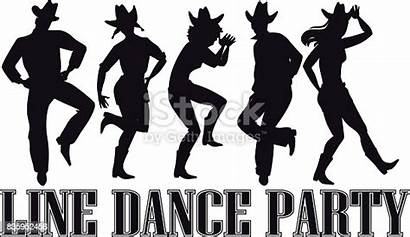 Dance Line Clip Country Western Party Banner