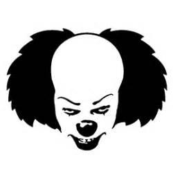 Clown Pumpkin Stencils Free by It Pennywise The Clown Stencil Free Stencil Gallery