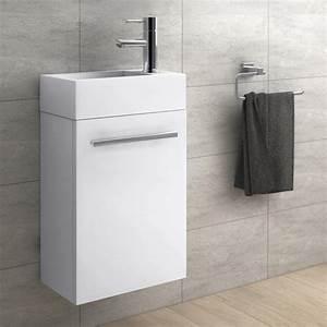 Kleines Waschbecken Mit Unterschrank Für Gäste Wc : treos serie 900 handwaschbecken mit unterschrank white reuter ~ Watch28wear.com Haus und Dekorationen