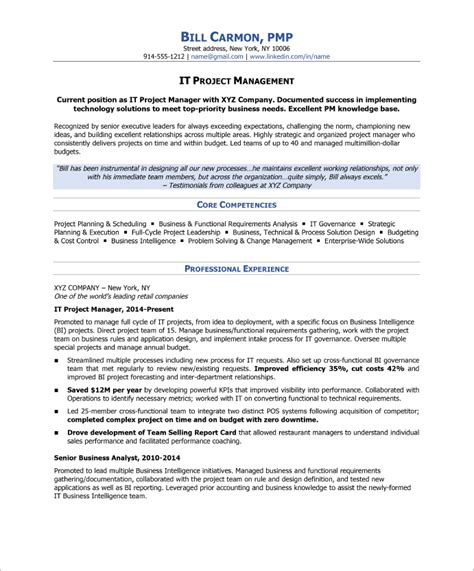 Blue Sky Resumes by How To Write A Project Manager Resume Blue Sky
