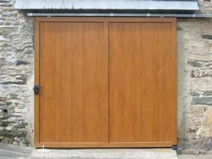 Porte de garage suspendue et coulissante