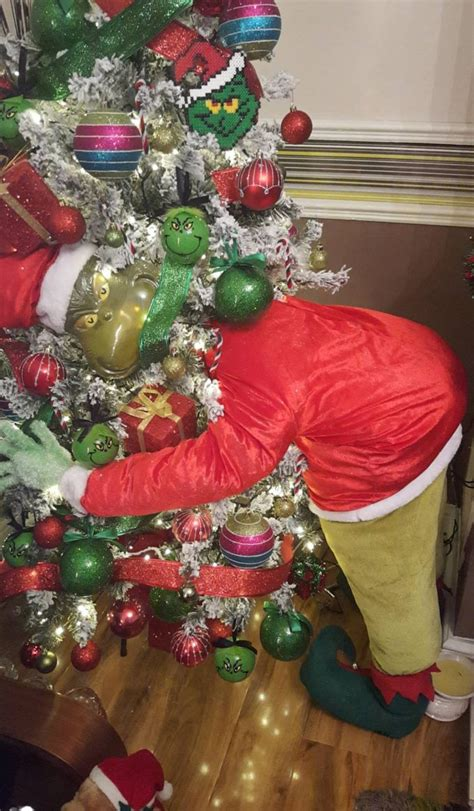 The Grinch Christmas Tree Decorations the grinch christmas tree kitchen fun with my 3 sons
