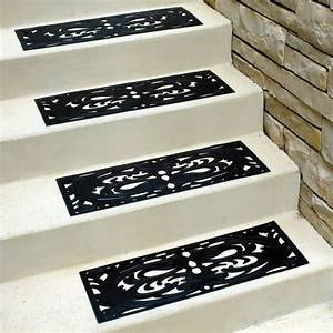 Design Rubber Stair Mats — Railing Stairs And Kitchen