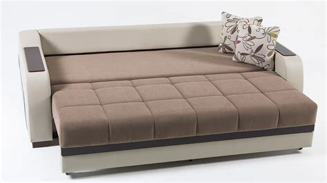 Bed And Sofa by Ultra Optimum Brown Convertible Sofa Bed By Istikbal Furniture