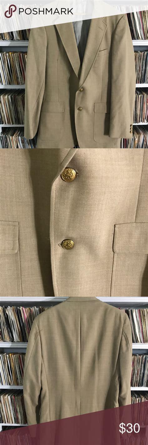 vintage tan austin reed suit   jones store