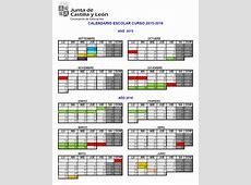 Calendario Escolar para el curso 20152016 en Castilla y León