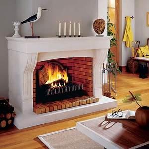 Cheminée à Foyer Ouvert : cheminees ouvertes brisach fabricant chemin e bois ~ Premium-room.com Idées de Décoration