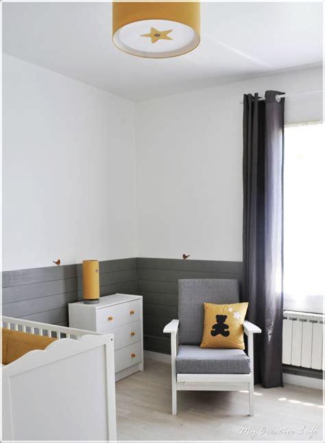chambre bébé baby chambre bébé gris jaune et blanc baby room nursery